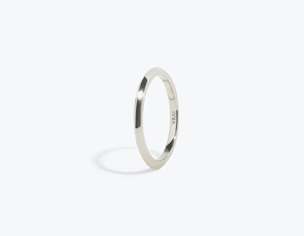 Modern Wedding Bands In Solid 18k Gold By Vrai