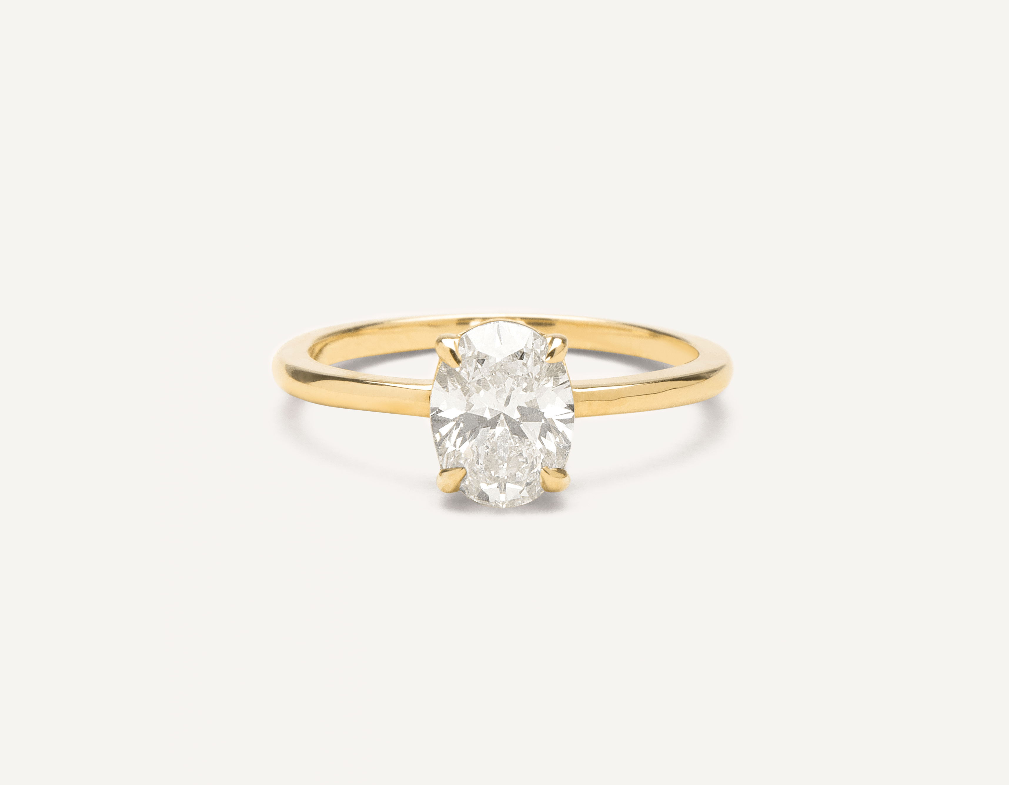 Engagement Rings Honest 1 Carat D Si1 Natural Clarity Diamond Solitaire Engagement Ring 18k White Gold Fine Jewelry